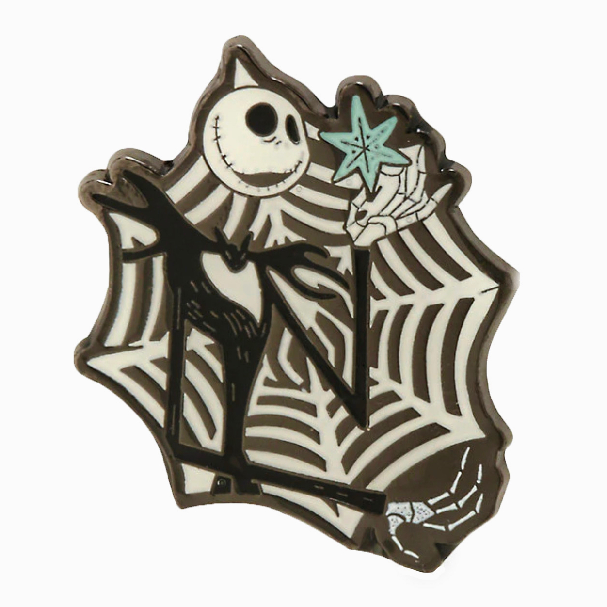 Nightmare Before Christmas Snowflake pin – Pinventory